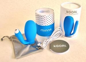 kGoal Lieferumfang mit USB Ladekabel (Herstellerfoto)